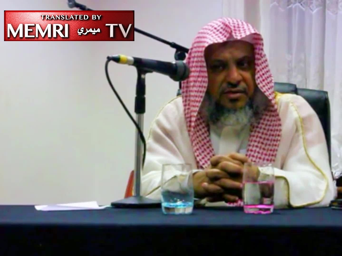 London Lecture by Saudi Cleric Muhammad Al-Malki: Polygamy Is the Remedy for AIDS [Archival]
